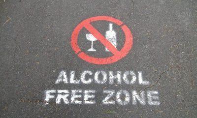 alcohol prohibited (dry January)